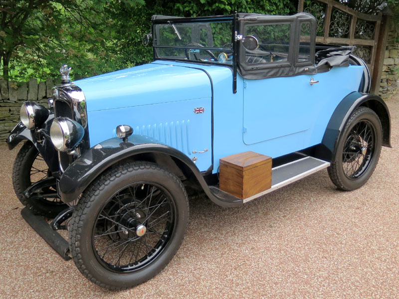 Lot 11-1929 Triumph Super Seven Tourer