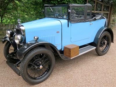 Lot 11-1929 Triumph Super Seven Tourer