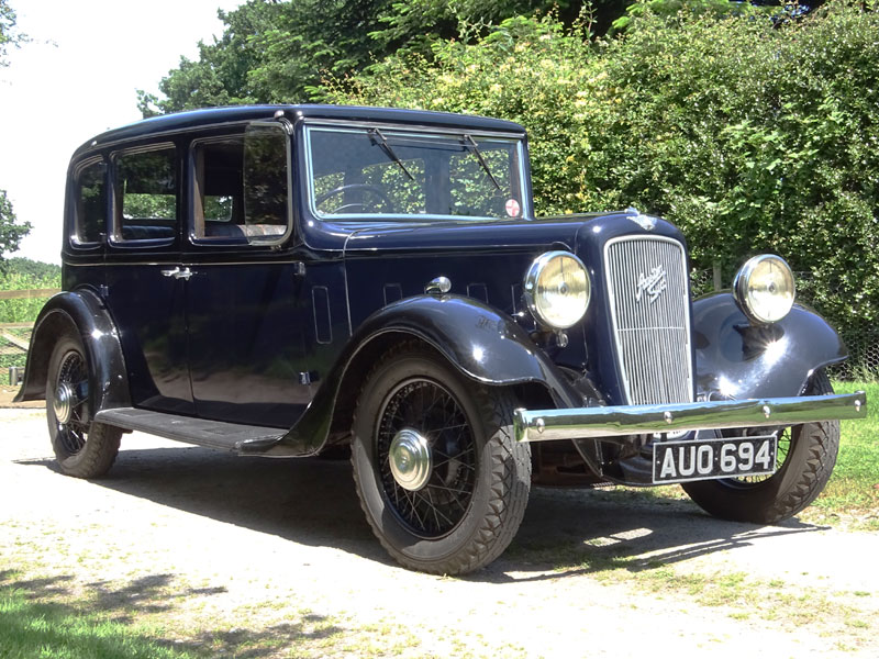 Lot 2-1935 Austin 18/6 York Saloon
