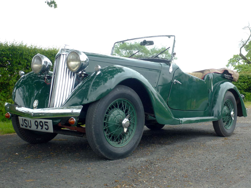 Lot 57-1936 Talbot Ten Tourer