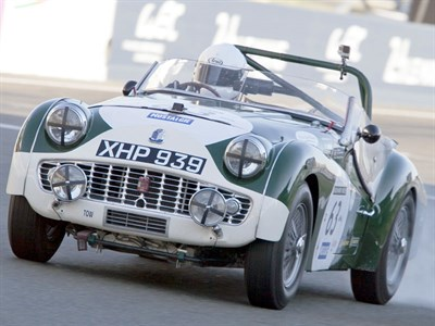 Lot 35-1959 Triumph TR3S Tribute