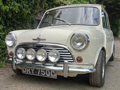 Lot 46-1965 Morris Mini Cooper S 1275