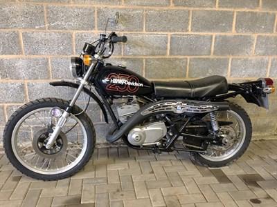 Lot 37 - 1977 Harley Davidson SX-250