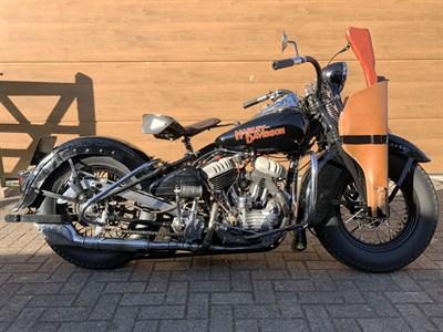 Lot 38 - 1941 Harley Davidson WL45