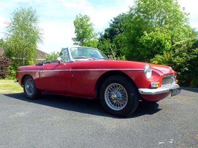 Lot 3-1964 MG B Roadster