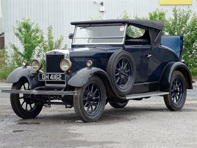 Lot 110-1930 Morris Cowley Tourer