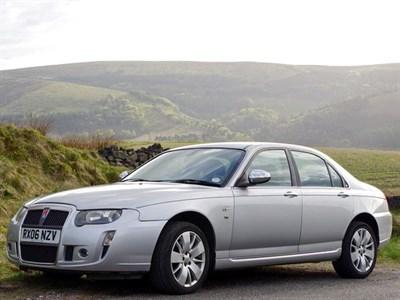Lot 18-2006 Rover 75 V8 Connoisseur SE