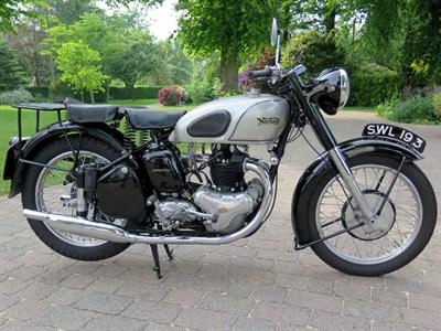 Lot 95 - 1952 Norton Dominator 7