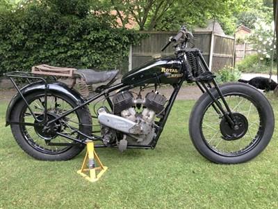 Lot 65 - c.1932 Royal Enfield Model K