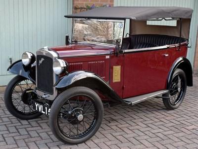 Lot 23-1933 Austin Seven AJ Tourer