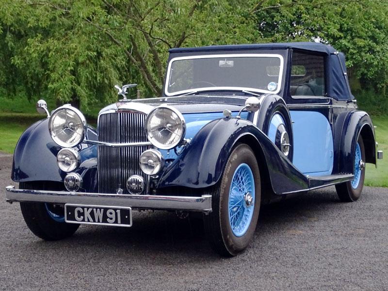 Lot 93-1938 Alvis Speed 25 SC Drophead Coupe