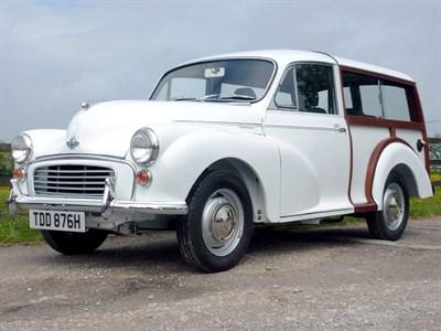 Lot 147-1970 Morris Minor 1000 Traveller
