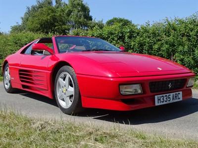 Lot 66-1991 Ferrari 348 TS