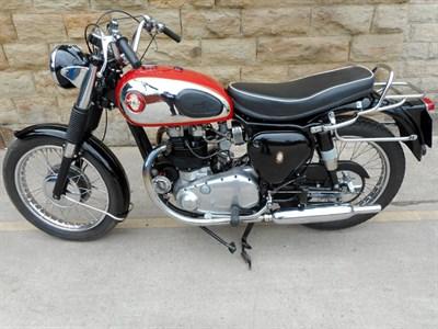 Lot 87 - 1956 BSA A10 Golden Flash