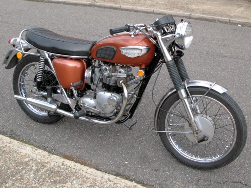 Lot 63 - 1969 Triumph T100 Tiger