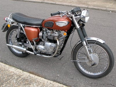 Lot 63-1969 Triumph T100 Tiger