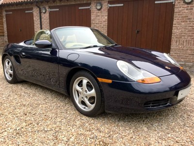 Lot 21-1998 Porsche Boxster