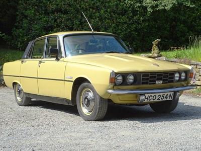 Lot 23-1975 Rover 2200 SC Saloon