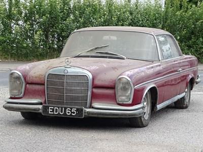 Lot 100-1965 Mercedes-Benz 300 SE Coupe