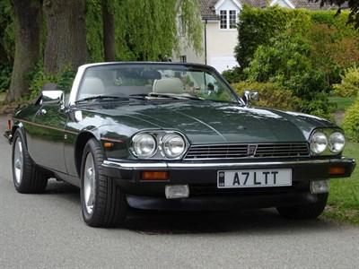 Lot 53-1988 Jaguar XJ-S 5.3 Convertible