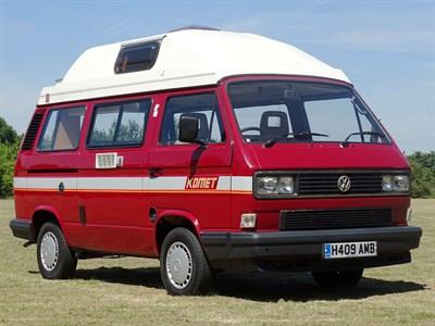 Lot 67-1991 Volkswagen Komet High Top Camper Van