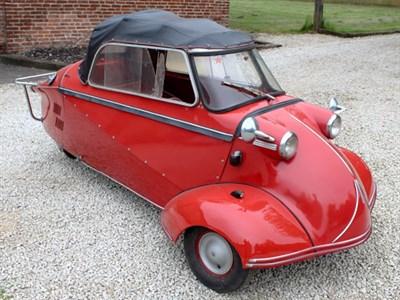 Lot 58-1955 Messerschmitt KR200 Cabriolet