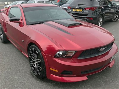 Lot 114-2010 Ford Mustang