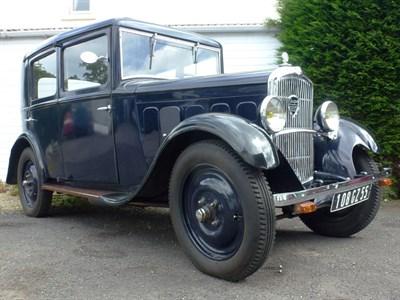 Lot 88-1931 Peugeot 201C Saloon