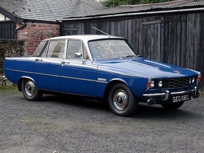 Lot 6-1972 Rover P6 2000 SC
