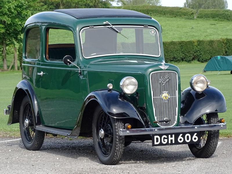 Lot 59-1936 Austin Seven Ruby Deluxe