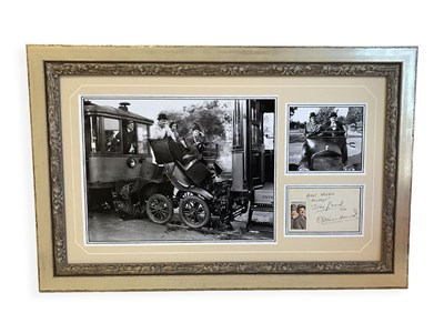 Lot 9-Stan Laurel and Oliver Hardy Autograph Presentation