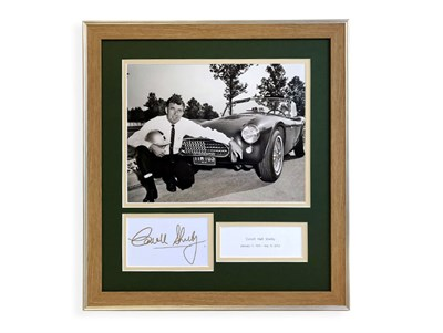 Lot 28-Carroll Shelby Autograph Presentation (1923 - 2012)