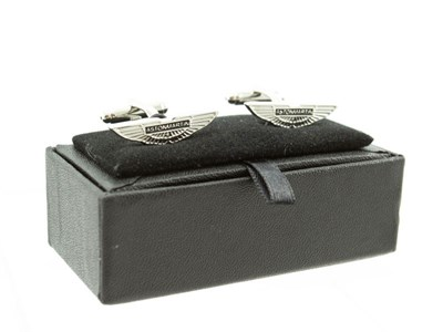 Lot 62-A Pair of Deluxe Aston Martin Cufflinks