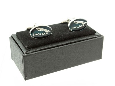Lot 23-A Pair of Deluxe Jaguar Cufflinks
