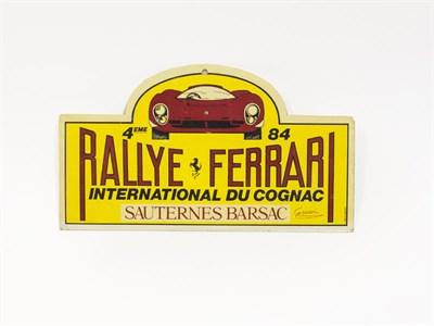 Lot 80-Ferrari Ephemera