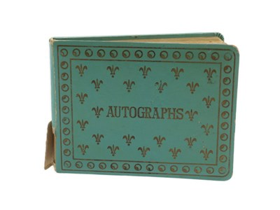 Lot 7-An Autograph Book