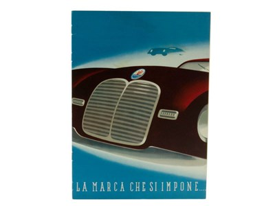 Lot 79-A Rare Maserati Sales Brochure