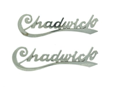 Lot 69-'The Chadwick' Motorcar Badges