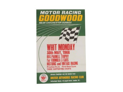 Lot 50-Goodwood Motor Circuit Original Poster