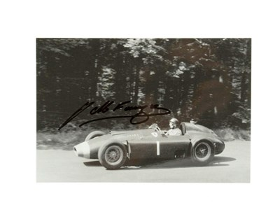 Lot 52-J. M. Fangio Signed Photographic Print