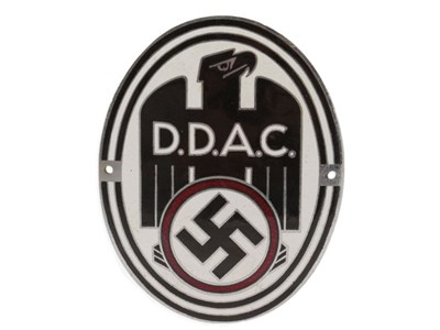 Lot 8-A DDAC Enamel Car Badge