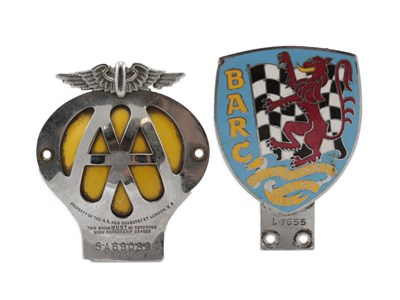 Lot 20-Two Member's Badges
