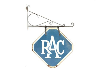 Lot 71-An RAC Enamel Sign