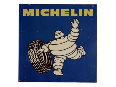 Lot 11-A Michelin Tyres Advertising Sign
