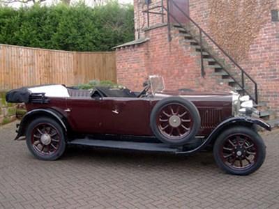Lot 87-1927 Sunbeam 16.9 Tourer