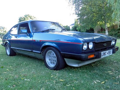 Lot 31 - 1981 Ford Capri 2.8i Turbo Technics