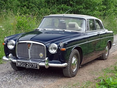 Lot 15-1967 Rover P5 3 Litre MK III Coupe