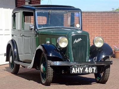 Lot 32-1934 Austin 10/4 Lichfield Saloon