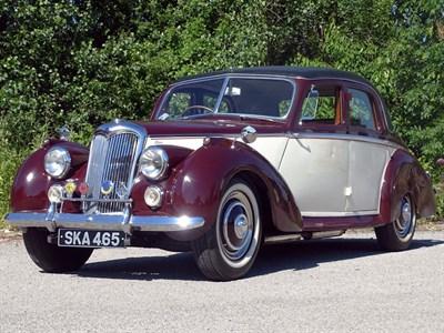 Lot 28-1954 Riley RME 1.5 Litre
