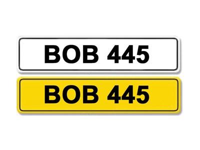 Lot 1-Registration Number BOB 445